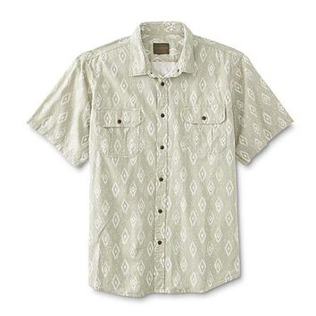 Northwest Territory Men's Big & Tall Button-Front Shirt - Tribal