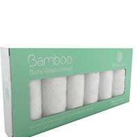 Organic Bamboo Newborn Baby Washcloths - By Willow Beans - Soft for Sensitive Skin - Anti-bacterial - Odor Resistant - Anti-fungal - Best for Eczema - Makeup Removal - Baby Shower Gift Necessity! - Discounted Price