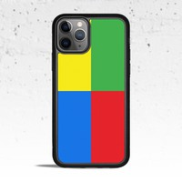 Color Blocks Phone Case for Apple iPhone