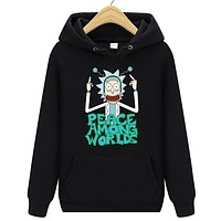 Rick and Morty Mens Hoodies