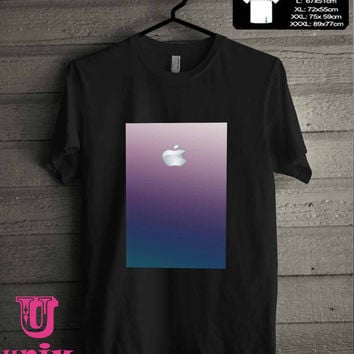 ombre pink and teal gradient T-Shirt for man shirt, woman shirt **