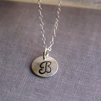 Love  | Initial  | Identity | Personalized Necklace