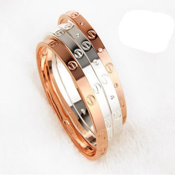 Titanium Lover Bracelet Bangle