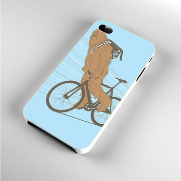 Chewbacca Biking Star Wars iPhone 4s Case