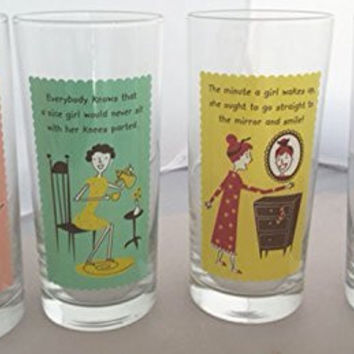 Lazy Susan Good Housekeeping Drinking Glasses (Set/4)