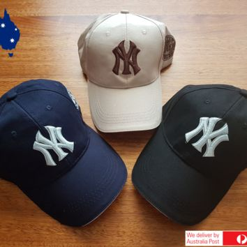 New York NY Yankees Baseball Unisex Hat Cap UniSex Cotton AU Stock!! Free Ship..