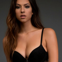 Scandalous Plunge Push-Up Bra