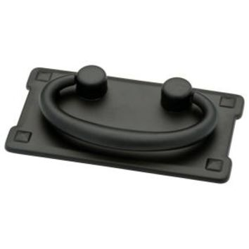 Liberty, 3 in. Black Horizontal Bail Pull, 62076BK at The Home Depot - Mobile