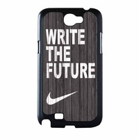 Nike Write Future Wood Samsung Galaxy Note 2 Case