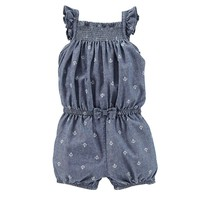 Carter's Anchor Chambray Romper - Baby