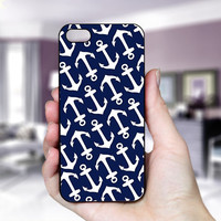 Nautical Anchor - Print on Hard Cover For iPhone 4/4S and iPhone 5 - Choose Option