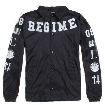 Civil Regime Platoon Coach Jacket - Mens Jacket - Black
