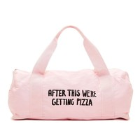 ban.do - work it out gym bag - after this we're getting pizza