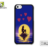 The Moon Little Mermaid iPhone 5c Case Cover by Avallen