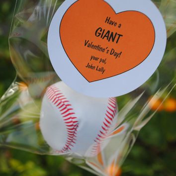 San Francisco Giants Valentine Stickers