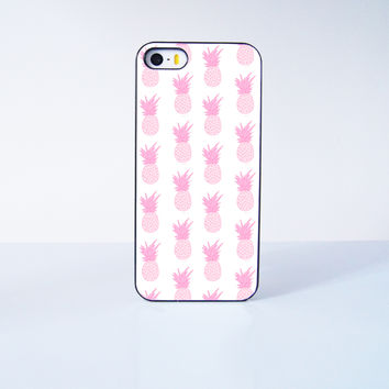 Pink Pineapple Collection  Plastic Case Cover for Apple iPhone 5s 5 4 4s 5c 6 6s Plus