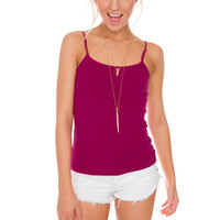Shirley Top - Fuchsia