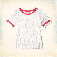 Sporty Ringer T-Shirt