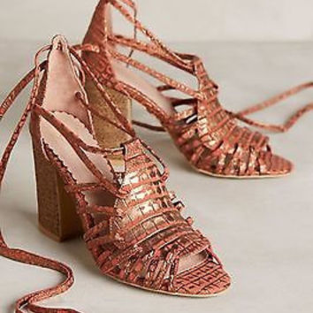 NIB Anthropologie Miss Albright Camille Heels Sz 6.5 B and 9.5 B