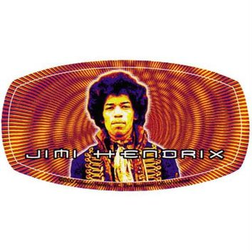 Jimi Hendrix - Orange Decal