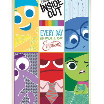 Disney Inside Out Grid Poster