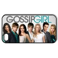 Gossip Girl Hard Case Cover Skin for Iphone 4 4s, Movie Actor iPhone 4s/4 case