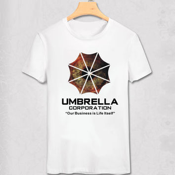 Resident Evil Umbrella Corporation Our Business Is Life Itself T-Shirt