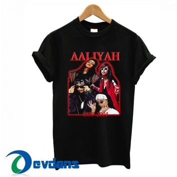 Aaliyah 1979-2001 T Shirt Women And Men Size S To 3XL