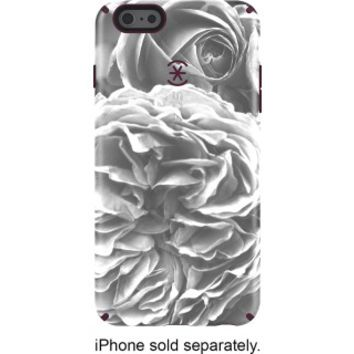 Speck - Luxury Inked Case for Apple® iPhone® 6 Plus and 6s Plus - Gray/White