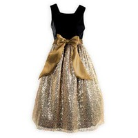 Glittering Gold Dress - Wooden Soldier