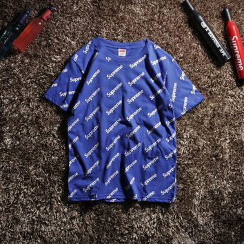 Cheap Women's and men's supreme t shirt for sale 85902898_0055