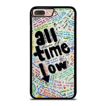 ALL TIME LOW COLOUR iPhone 8 Plus Case Cover
