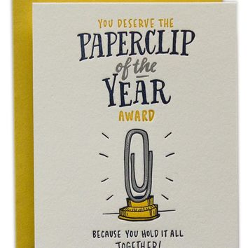 Paperclip of the Year Award