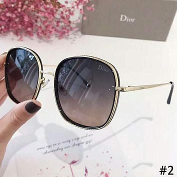 DIOR 2019 new tide brand female box color film polarized sunglasses #2