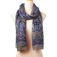 Berkshires Wearable Art Gauze Scarf - Designer Scarves | Theodora & Callum