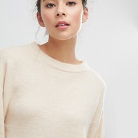 Micha Lounge Boxy Crop Sweater at asos.com