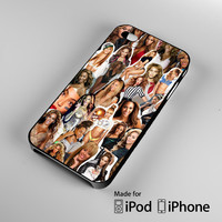 Beyonce Collage A0206 iPhone 4S 5S 5C 6 6Plus, iPod 4 5, LG G2 G3, Sony Z2 Case