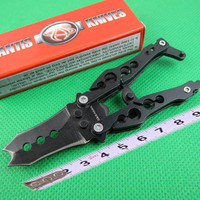 SHOOTEY C53BK Mantis Multifunctional Tool knives 440C steel EDC camping gear survival rescue knives with retail box