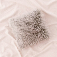 Marisa Tipped Faux Fur Pillow   Urban Outfitters