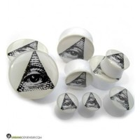 "Illuminati Plugs (2G - 3/4"") Sold In Pairs 