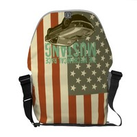 Ford mustang courier bag