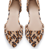 Follow Me Leopard Flats