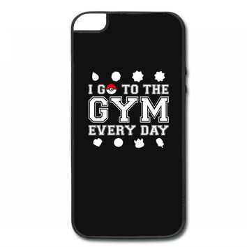 I Go To The Gym Everyday, Pokemon Gym Shirt iPhone 5/5s Hard Case