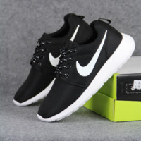 Black Trendy Fashion Casual Sports sneakers shoes