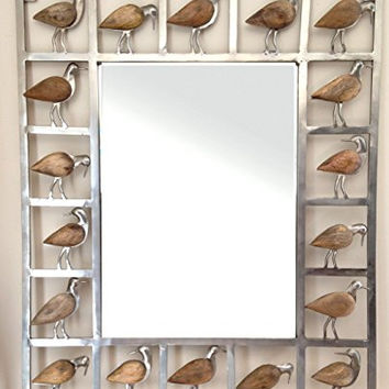 Sandpiper Decorative Mirror 26-in x 21-1/2-in