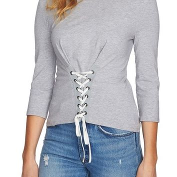 1.STATE Corset Waist Top | Nordstrom