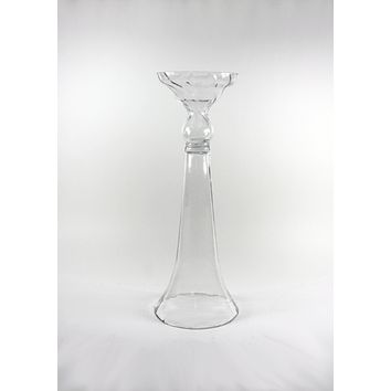 Shop Clear Trumpet Vases On Wanelo