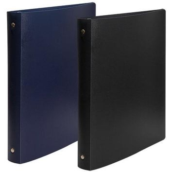 Jot 3-Ring Binders with Flexible Poly Covers, 1""