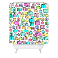 Lisa Argyropoulos Travelers Pastel Shower Curtain