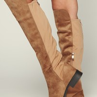Jamie Over The Knee Boot (Tan)
